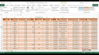 Excel   Tableau Croise Dynamique 1