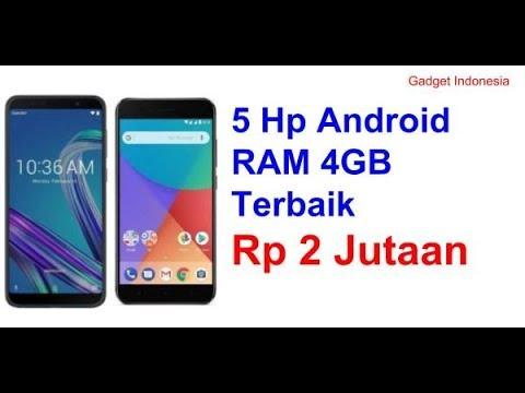 Rekomendasi 5 Hp Ram 4gb Harga 2 Jutaan Gadgetindonesia Youtube