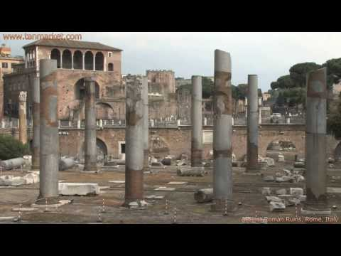 Ancient Rome Ruins, Italy, Collage Video - youtube.com/tanvideo11
