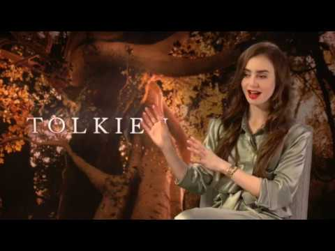 Lily Collins: Talks