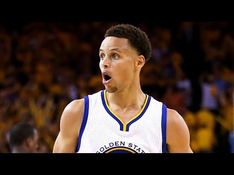 Steph Curry Can't Believe His Own Shot,...