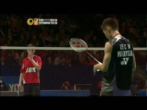 R16 - MS - Lee C.W. vs H. Vittinghus - 2012 All England