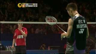 R16 - MS - Lee C.W. vs H. Vittinghus - 2012 All England
