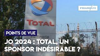 JO 2024 : Total, un sponsor indésirable ?