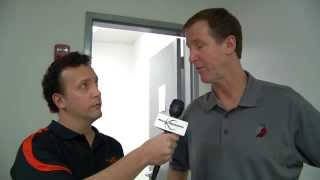 Portland Trail Blazers Head Coach Terry Stotts Gives Insight Into Offense
