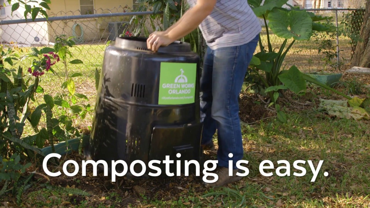 Composting | City of Orlando Public Works – Solid Waste