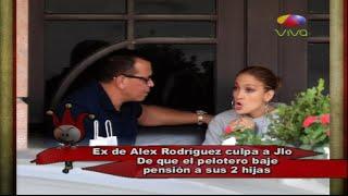 Los Dueños del Circo: Ex de ARod culpa a Jlo de que el pelotero baje pensión de sus hijas