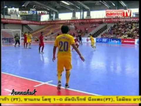Thailand Vs Laos [26-2] AFF Futsal Championship 2012