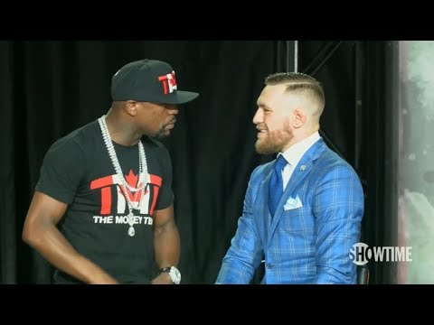 Mayweather vs McGregor World Tour: Toronto Press Conference
