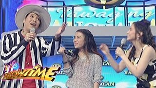 """It's Showtime: What is """"maganda ka"""" in french according to Vice?"""