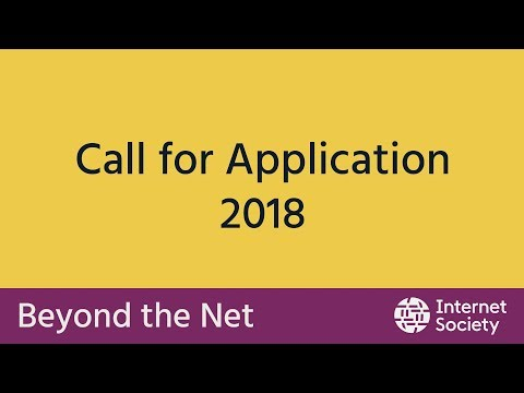 Apply Beyond the Net Funding Programme