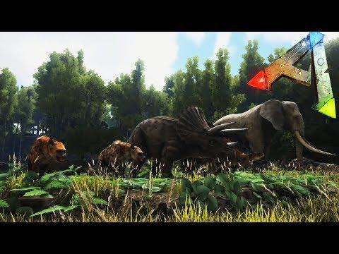 ¡¡DINOCROCUTA, PALAEOLOXODON Y MAS!! | Additional Creatures MOD #2 | Ark: Survival Evolved thumbnail