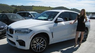 "NEW BMW X6 M 20"" M WHEELS EXHAUST SOUND REVIEW X6M"