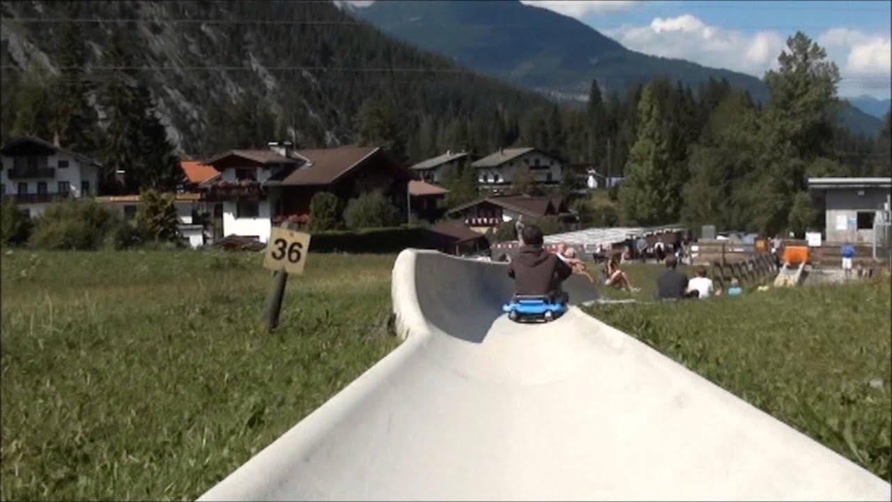 Rodelen 2 Augustus 2015 Biberwier Tirol Oostenrijk Youtube