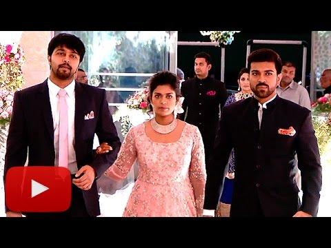 UNCUT: Srija's Wedding Reception FULL VIDEO   Chiranjeevi    Lehren Telugu