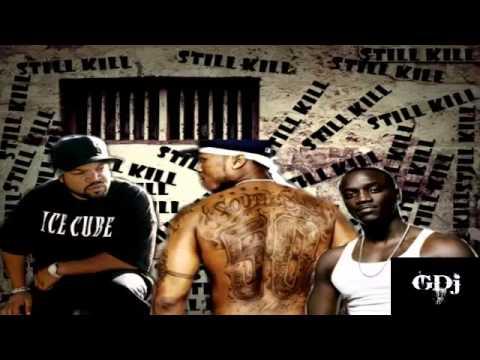 50 Cent Ft Akon & Ice Cube - Still Will Kill Remix (New 2013)