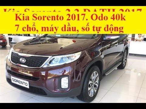 (ĐÃ BÁN) Kia Sorento 2.2 DATH 2017 Odo 40k km Máy Dầu, Số Tự Động, 7 Chổ