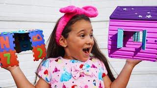 Anna buy a new playhouse