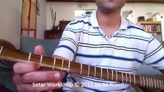 Persian Setar Workshop video 3: Mezrab Warm up & Fingering