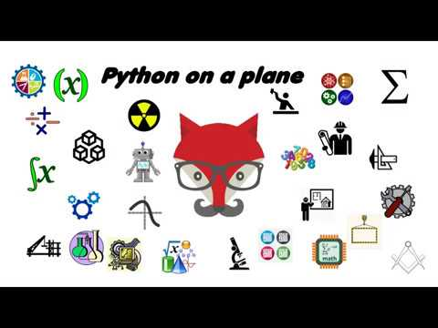 Using Python on a plane to draw a grid, part one
