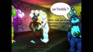 Freddy and bonnie love story