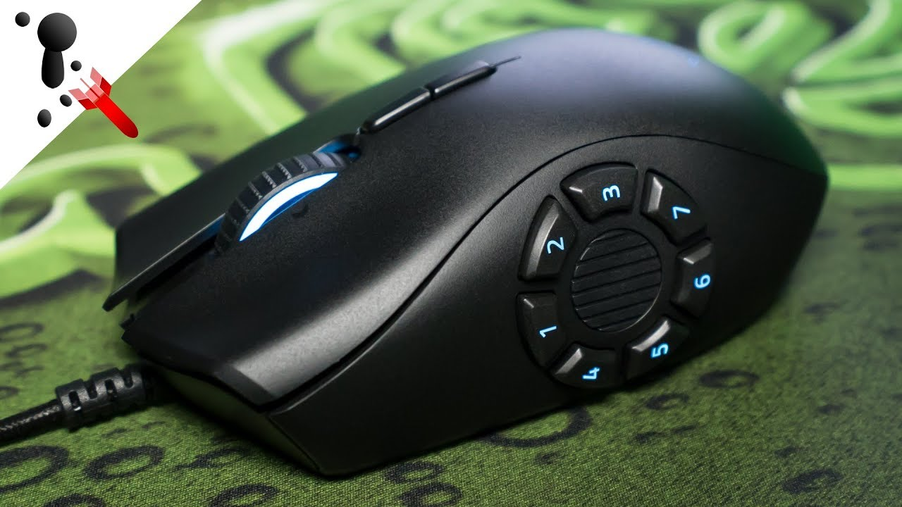 26a08417a6d Razer Naga Trinity Review (MMO and MOBA Mouse) - YouTube