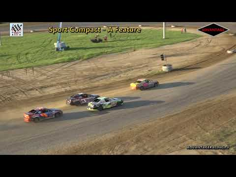 Sport Compact Heat/Feature - Clay County Speedway - 7/8/18