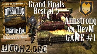Company of Heroes 2 Aimstrong vs. DevM Grand Finals G1