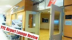 Calgary (YYC) Airport Lounge REVIEW