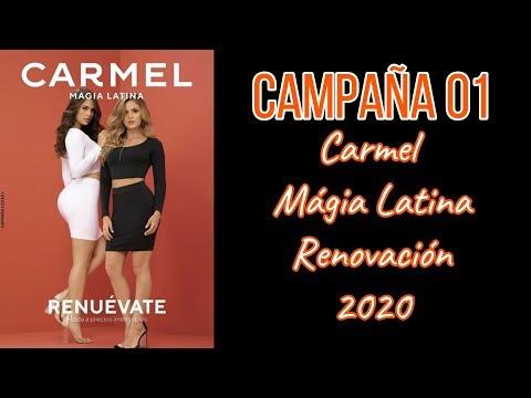 ✔️Catálogo CARMEL - Campaña 01 - Colombia 2020💝