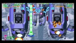 Mars Matrix Elite Mode A Full Game Play Sega Dreamcast