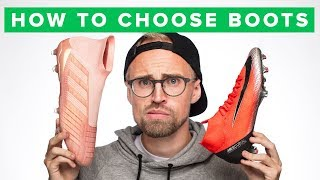 HOW TO CHOOSE THE RIGHT FOOTBALL BOOTS?