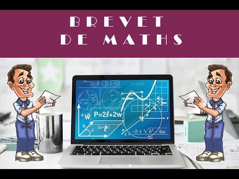 BREVET DE MATHS : PROGRAMME DE CALCUL - CORRIGÉ