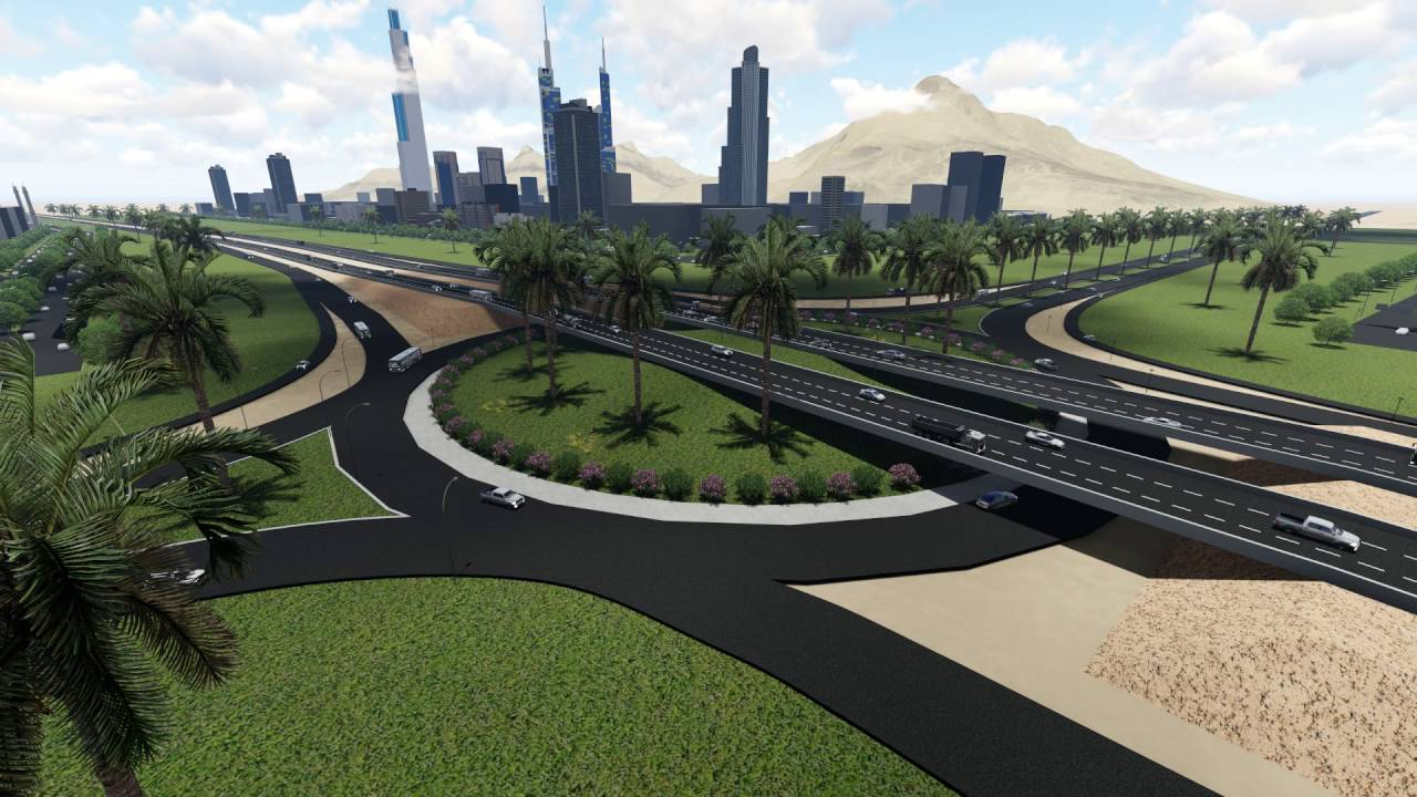 Lumion 6 0 highway design youtube for Mobilia highway 7