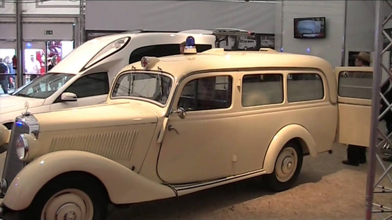 rettmobil 2014 historischer krankenwagen mercedes youtube. Black Bedroom Furniture Sets. Home Design Ideas