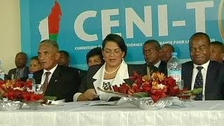 Объявлены итоги первого тура выборов на Мадагаскаре(Лидером первого тура президентских выборов на...