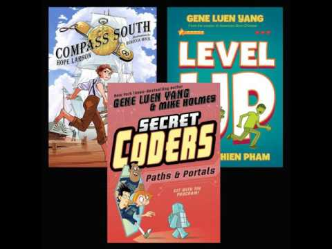 Young Readers: Reviews of Compass South, Secret Coders: Paths and Portals, and Level Up