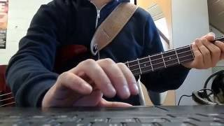 Counting crows - Mr Jones bass cover with tab