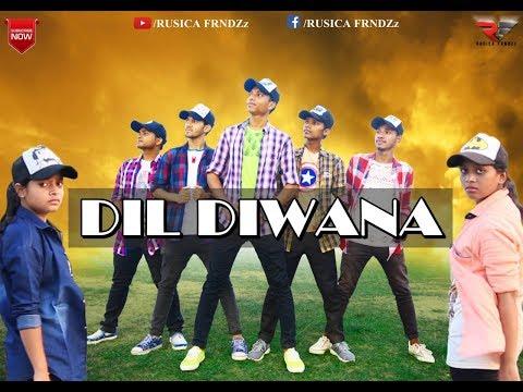 RUSICA FRNDZz || DIL DIWANA || New  Santali Group Dance Video