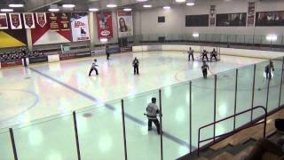 Nomadic Horde VS Barries Tavern USA Broomball Nationals 2014