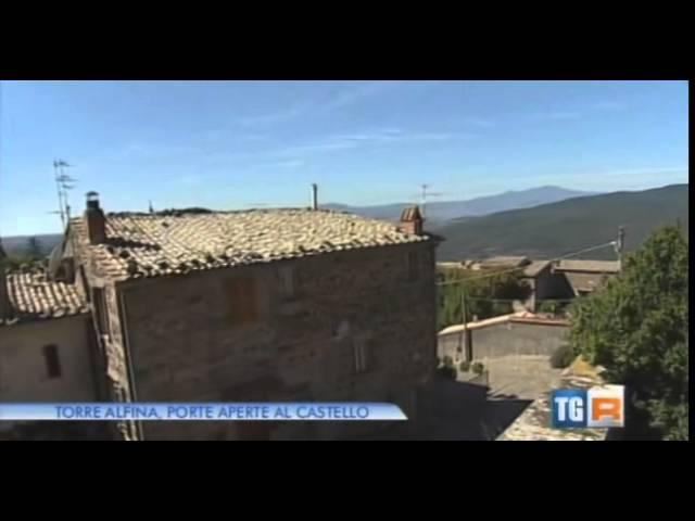 Il Castello di Torre Alfina apre al pubblico