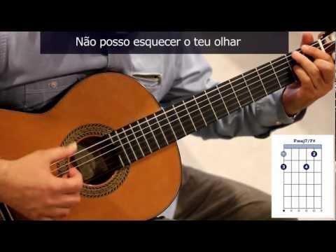 """Cómo tocar """"Lamento no morro"""" de Vinícius de Moraes y Tom Jobim / How to play """"Lamento no morro"""""""