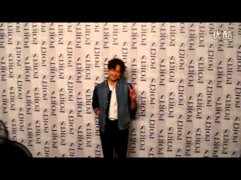 (Fan-Cam) 151013 Jung Il Woo at Ports fashion show in Shanghai 丁一宇出席上海 宝姿Ports 时装秀
