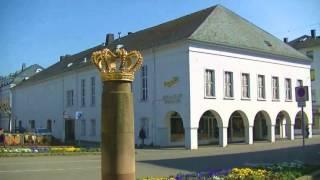 Saarlouis (Saarland, Germany) Stadtrundgang