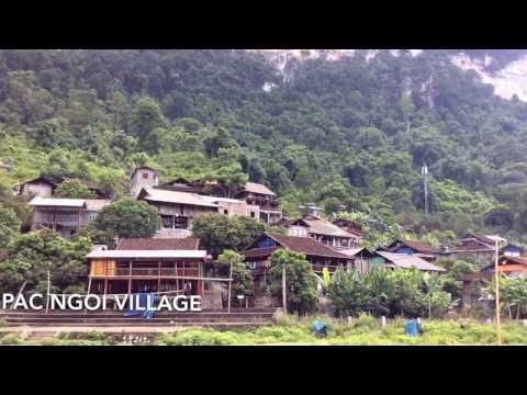Travel to Ba Be lake, Vietnam