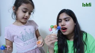 Lollipop Daddy finger family song with Rufi