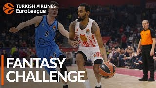 Turkish Airlines EuroLeague Regular Season Round 21: Fantasy Challenge