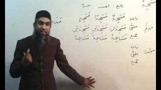 Arabi Grammar Lecture 07 Part 03  عربی  گرامر کلاسس