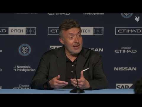 PRESS CONFERENCE | NYCFC vs. Chicago Fire | 04.24.19