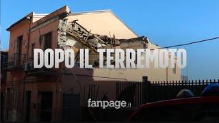 """Terremoto Catania, viaggio nelle case sventrate: """"Vivi per miracolo, la peggiore notte della vita"""""""